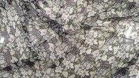 Новые широкие цветы принты французский шелк шифон Ткань для шитья тканый материал ткань для занавесок тюль платье из шелковой ткани