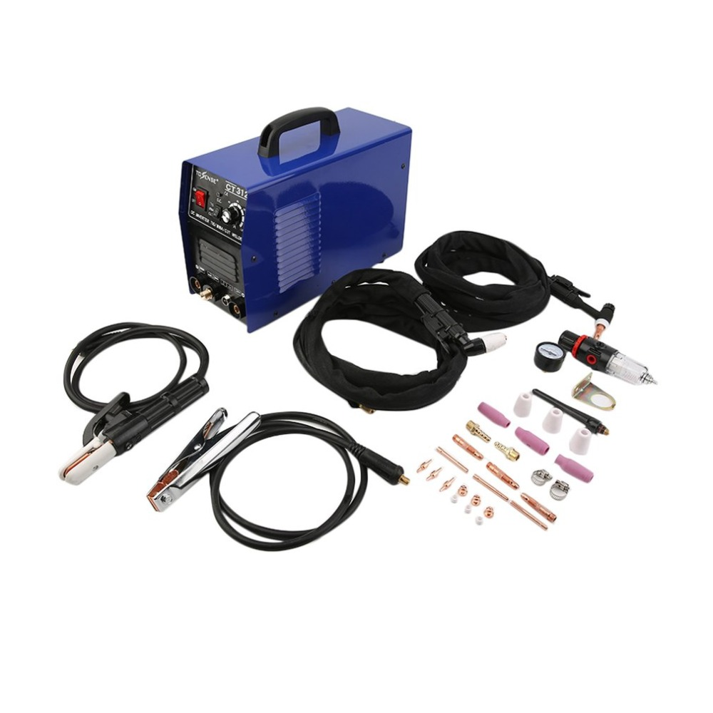 Saldatrice CT312 Durevole IP21 Proteggere Classe di Efficienza del 80% Taglio Al Plasma Macchina Con Funzione di Raffreddamento Ad Aria professionale