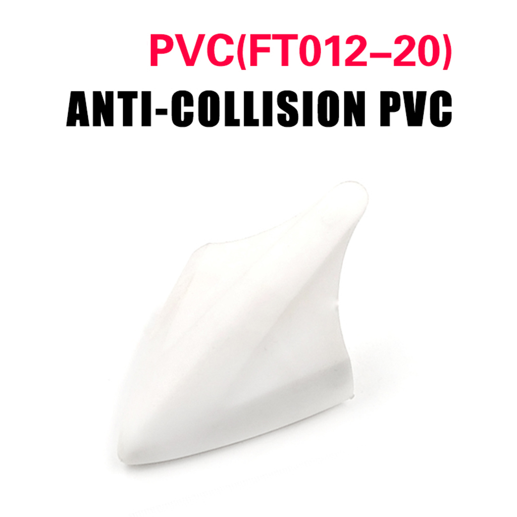 OOTDTY Anti-crash PVC for Feilun FT007 009 012 RC Boat Spare Parts Replacement MAR