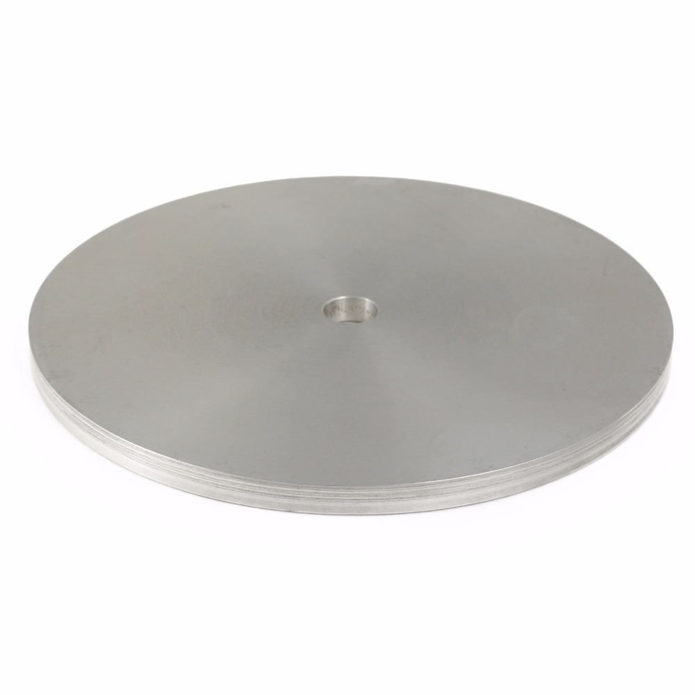 8 inch 200mm Aluminum Master Lap for Diamond coated Flat Lap Disk Grinding Polishing Wheel Machine Accessories vibration type pneumatic sanding machine rectangle grinding machine sand vibration machine polishing machine 70x100mm