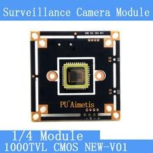 HD Color CMOS 1000TVL camera module surveillance cameras PCB Board PAL / NTSC Optional