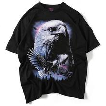 Fashion summer Mens tshirt dragon funny t Shirts solid Animal printed O Neck Men Short Sleeve