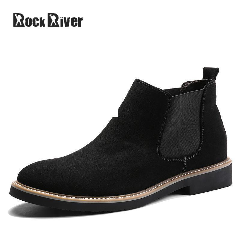 Sapatos Nova Camurça Kanye De Black Homens blue Couro Genuíno West Tornozelo 2018 Chelsea Primavera Altos gray Vaca Top Casual Botas Preto 6g0Bw6qPd