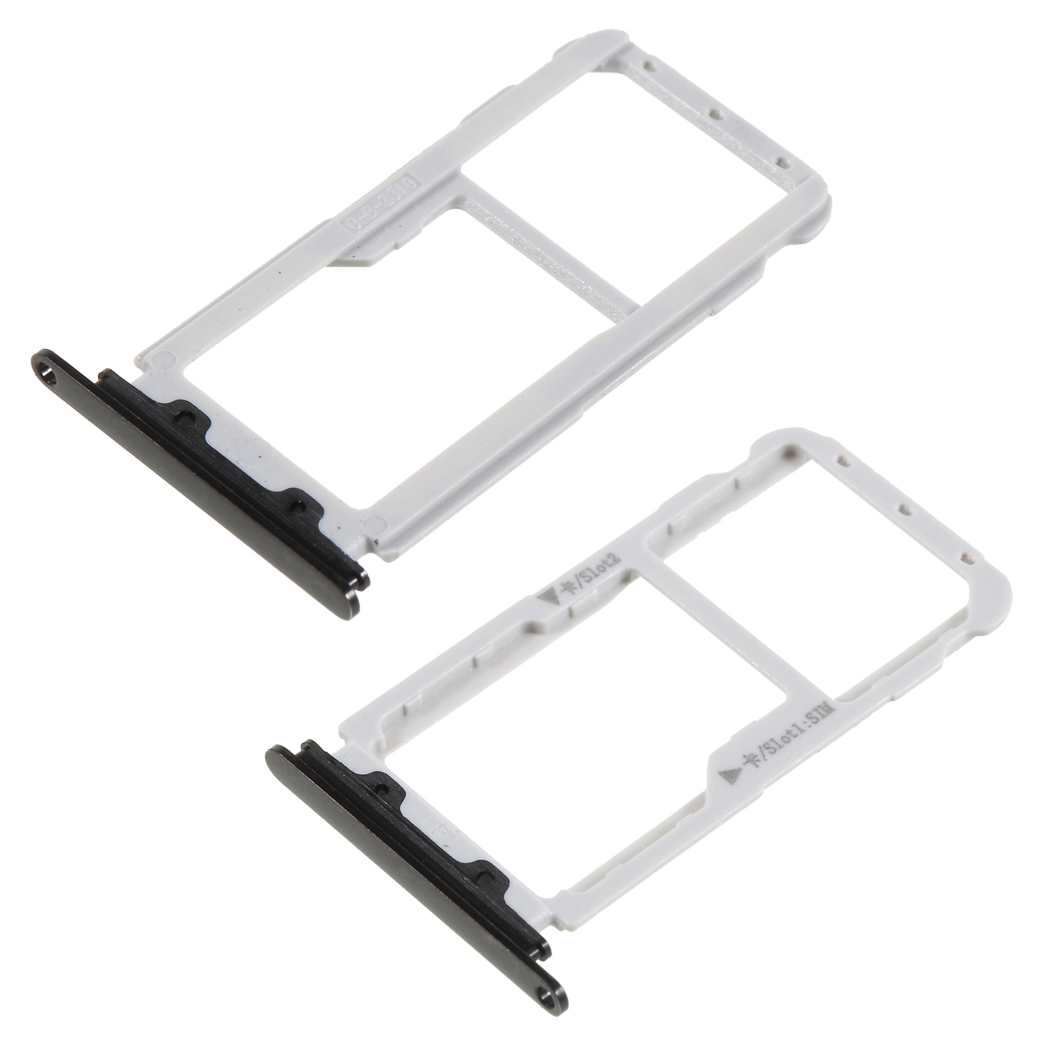 DULCII OEM Dual SIM MicroSD Card Tray Slot Holder for Huawei nova 2 plus