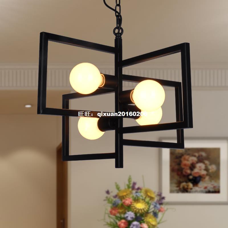American Village Light Industry Retro-Stil Kronleuchter - Innenbeleuchtung - Foto 1