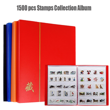 1500 Pcs Postage Stamps Collecting Album 30 Sheets 60P 5 Line Holder Double Layer Protection Storage Album for Stamps Collection china post stamp 2015 4 24 solar terms spring fdc frist day cover postage stamp collecting postage stamps souvenir sheet