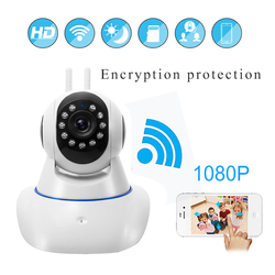 2018 домашние безопасности IP Камера Беспроводной Смарт Wi-Fi Камера Wi-Fi аудио запись видеонаблюдения Видеоняни и радионяни HD Mini CCTV Камера камер...