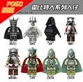 Marvel Figuras Haldir Terill Hobbit Elrond Elf Prince Capitán líder Lepin Guardia Bosque Negro Bloques de Construcción Para Niños Juguetes PG8036