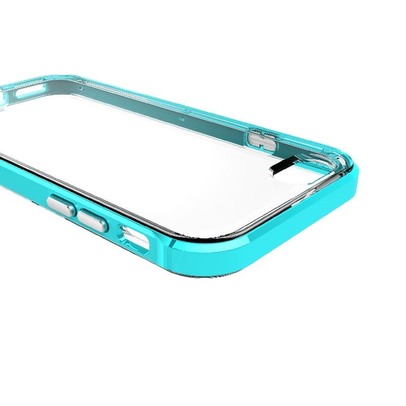 ITEUU 6S 6 Plus Premium PC Frame TPU Estuche a prueba de golpes para - Accesorios y repuestos para celulares - foto 4