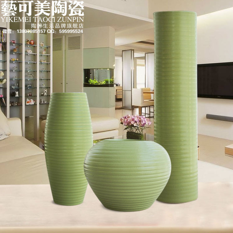 Great Aliexpress.com : Buy Ceramic Vases Simple Modern Living Room Table Green  Vase Three Piece Home Furnishing Decor Ceramic Ornaments Floral Wedding  Gift From ... Part 6