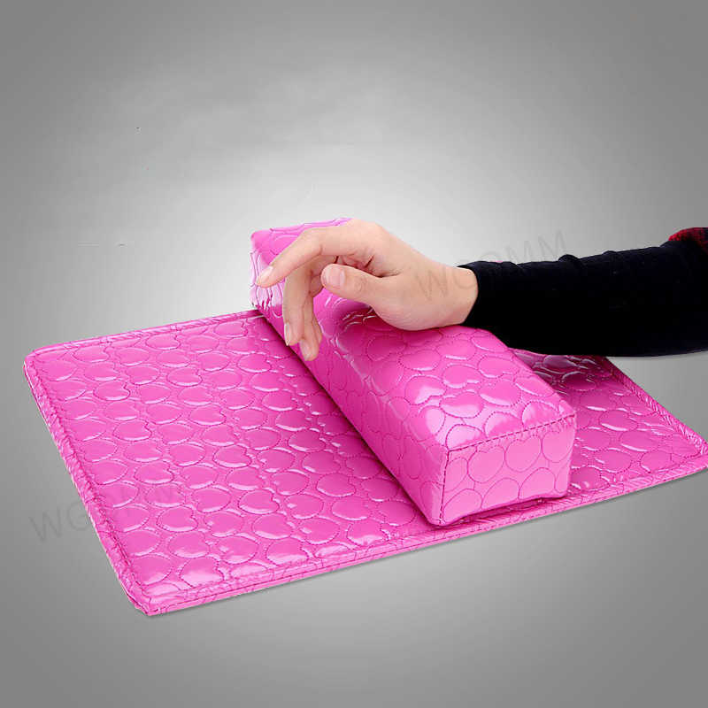 Nail Art Kussen voor Manicure Zachte Hand Arm Rest Kussen Kussen PU Lederen Houder Zachte Manicure Nagel Tool Behandeling equipmen