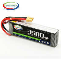 3S 11.1V 3500mAh 60C Lipo Battery For RC Drone Helicopter Quadcopter Airplane Aircraft Car Remote Control Toys Lithium Battery