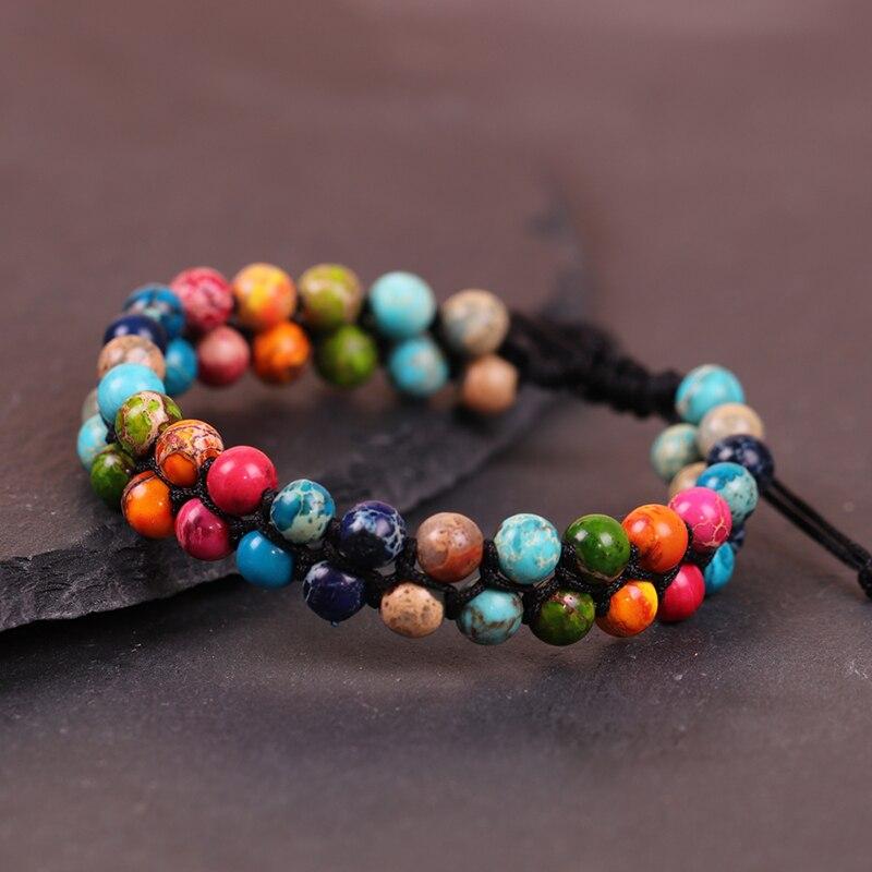 Bracelet des 7 Chakra pas cher | OkO-OkO