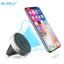 Magnetic Phone Holder on Xiaomi Pocophone F1 Huawei Car GPS Air Vent Mount Magnet Cell Phone Stand Holder for iPhone X Samsung(China)