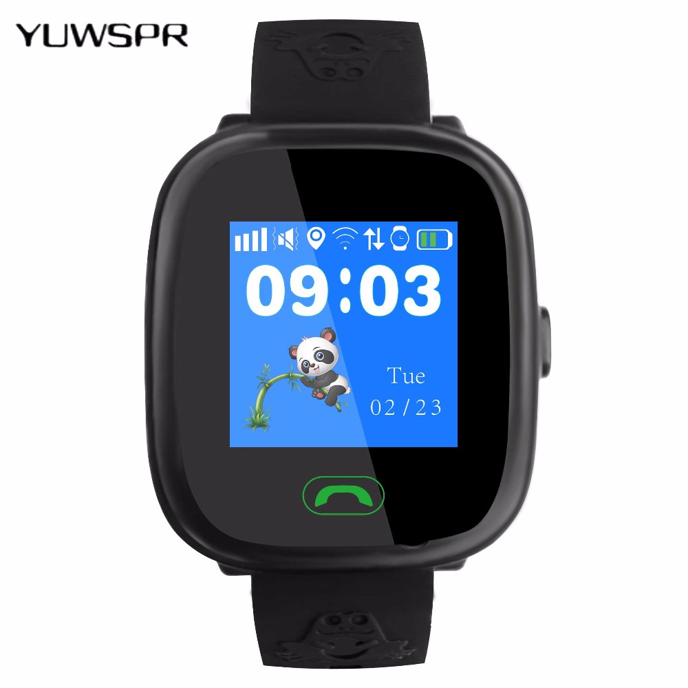 2018 New GPS tracking watch for kids touch Screen swimming IP67 waterproof Smart SOS Call finder location children Watch HW8S