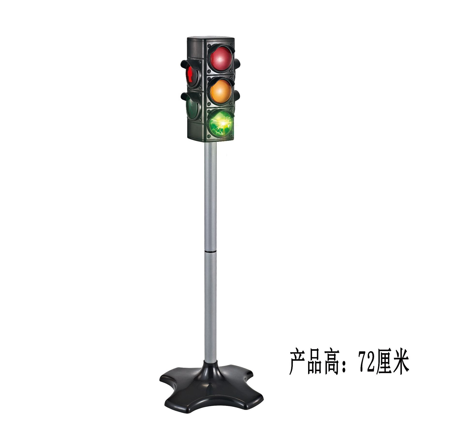 72cm Simulation Working Traffic Light Children's Role Play Communication Early Educational Traffic Diecasts Toys Vehicles Doll