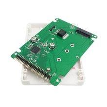 50pcs / lots M.2 NGFF PCI-E 2 Lane SSD to SATA 22pin 2.5″ Hard Disk Case Enclosure for E431 E531 X240 Y410P Y510P, By UPS DHL