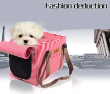 Portable Dog Bags Sturdy Nylon Pet Carrier Travel Double Shoulder Backpacks Sport Riding Hiking Outdoor Bag
