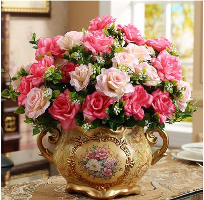 Ceramic vase, weddings and Christmas decoration, home decoration products