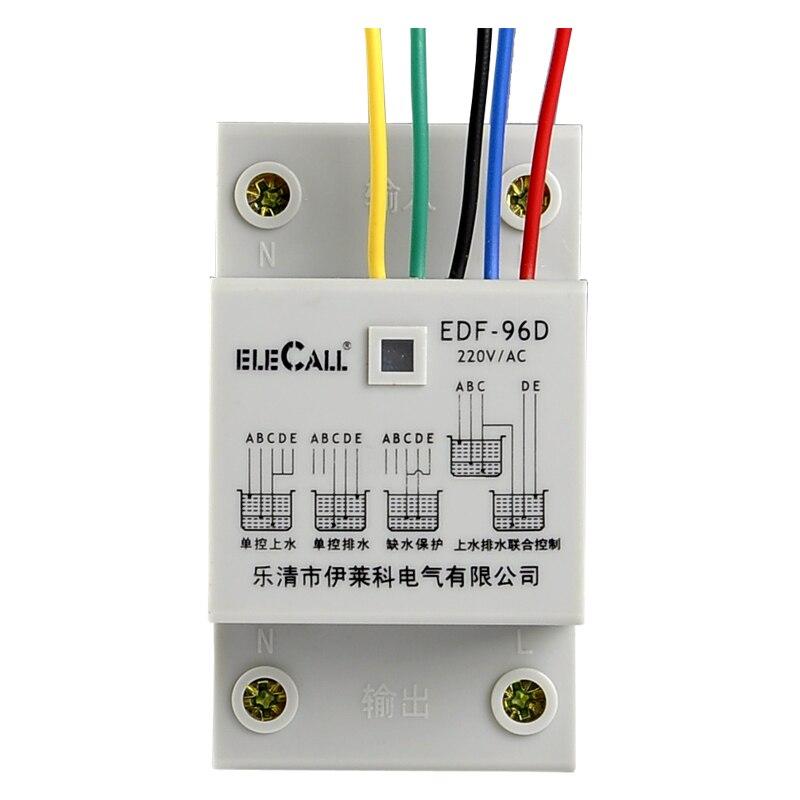 Commutateur de contrôle de niveau de puissance élevé de haute qualité AC 220 V 50 HZ 10A 5A outil de pompage de l'eau dans ou hors de la tour livraison gratuite