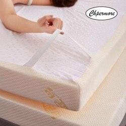Chpermore Nuovo Stile di alta qualità Gomma Piuma di Memoria di rimbalzo Lento Materasso Pieghevole Lavabile Materassi Addensare Tatami Re Queen Formato