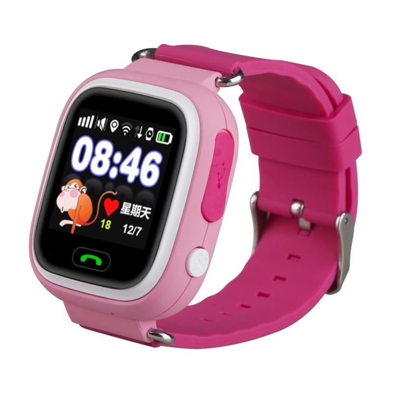 Montre intelligente Q90 pour enfants SOS appel localisation localisateur dispositif Tracker enfants Anti-perte montre-bracelet meilleur cadeau pour les enfants - 5