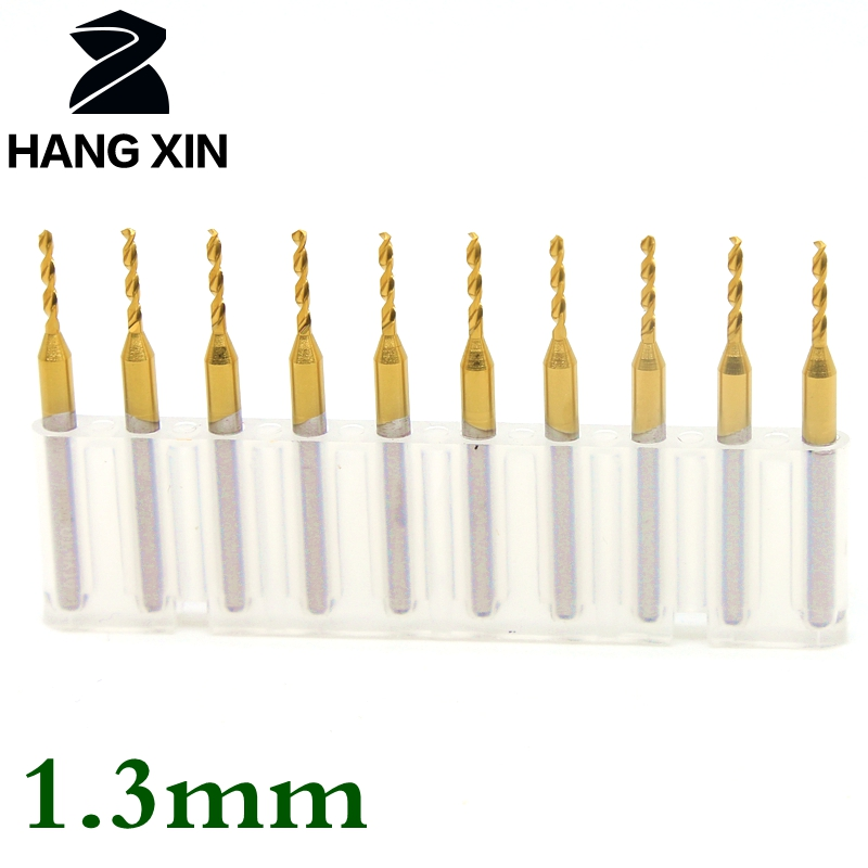 Tungsten carbide router wood tool pcb metal drill bit titanium 1.3mm center drilling grinder fixture accessories 10pcs cnc core titanium coated pcb drill 3 175mm 0 8mm drill tool 10pcs printed circuit board mini engraved metal cnc router woodworking