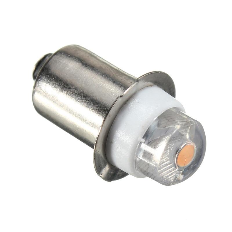P13.5S PR2 0.5W LED For Focus Flashlight Replacement Bulb Torches Work Light Lamp 60-100Lumen Pure Warm White DC3V 6V