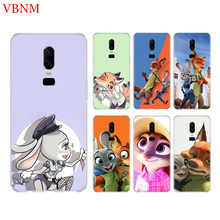 Zootopia Zootropolis Phone Back Case For OnePlus 7 Pro 6 6T 5 5T 3 3T 7Pro 1+7 Art Gift Patterned Customized Cases Cover Coque