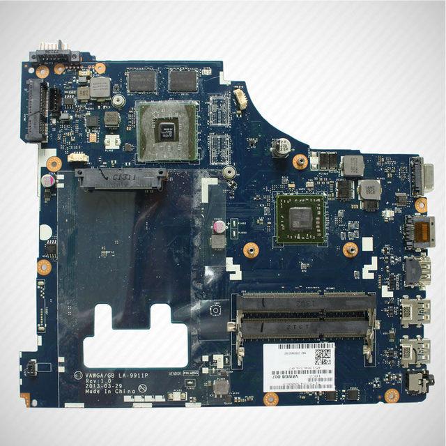 Para lenovo g505 g405 vawga placa madre del ordenador portátil/gb la-9911p amd cpu 90003015