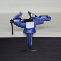 High quality mini vise bench clamp carpentry clamps Table vice universal table clamp tool Hand tool repair tool