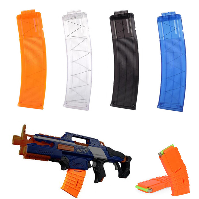 10/22 Reload Clip For Nerf Magazine Round Darts Replacement Toy Gun Bullet Clip Plastic Magazines Toys For Nerf N-Strike