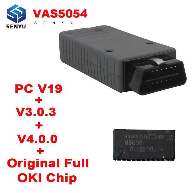 Prix pour VAS5054A Outil De Diagnostic Vas 5054a ODIS V4.1.3 Bluetooth D'origine OKI Complète puce 3.0.3 Soutien pour Audi pour Siège pour Skoda pour VW