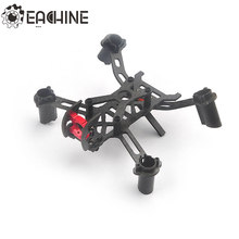 Eachine Vtail QX110 14,4g DIY Micro 1,5mm 3 K Kit de marco de fibra de carbono para 8520 sin núcleo Motor RC quadcopter modelo(China)