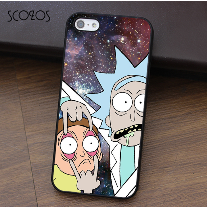 Rick And Morty Iphone S Phone Case