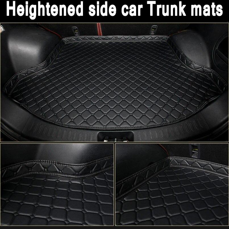 ZHAOYANHUA ajustement Personnalisé Accrue côté tapis de Coffre de voiture pour Mercedes ML63 ML300 ML320 ML350 ML400 ML450 ML500 ML550 W164 W163 w16