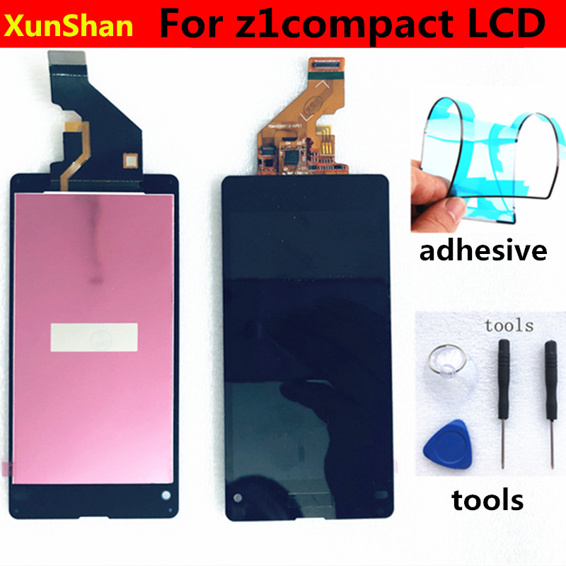 Original Display For SONY Xperia Z1 Compact LCD Touch Screen Digitizer For SONY Xperia Z1mini LCD D5502 D5503 M51W Touch Display