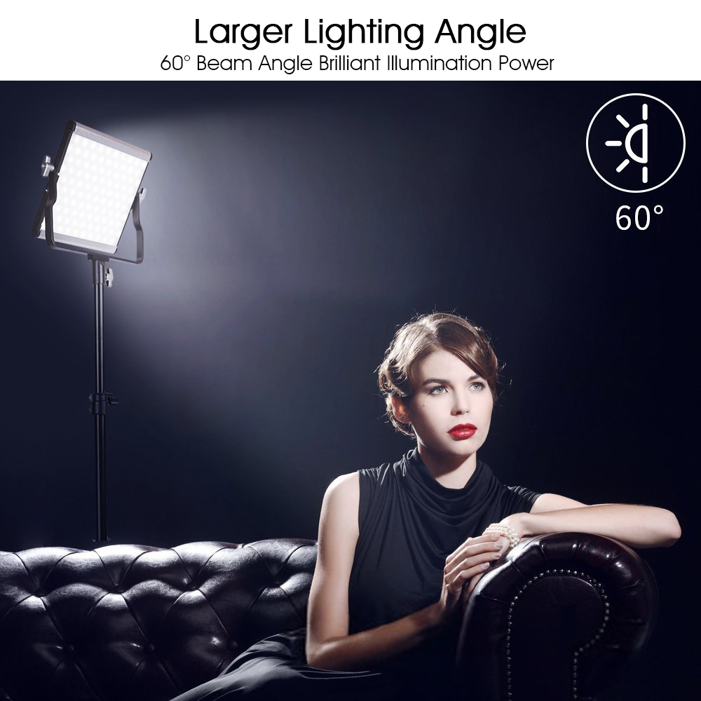 Image 5 - SAMTIAN L4500 Kit Video Light&Tripod Dimmable Bi Color photographic lighting LED Panel Light portable led lights for photography-in Photographic Lighting from Consumer Electronics