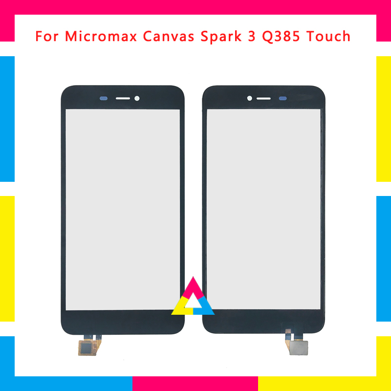 "Replacement High Quality 5.5"" For Micromax Canvas Spark 3 Q385 Touch Screen Digitizer Sensor Outer Glass Lens Panel"