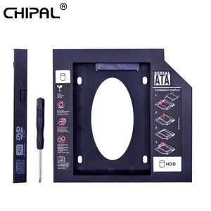 CHIPAL Plastic Material Universal 2nd HDD Caddy 12.7 mm SATA 3.0 for 2.5