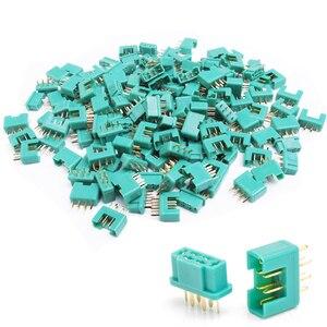 Штепсельная Вилка Amass MPX 6-pin (50 пар), 100 шт.