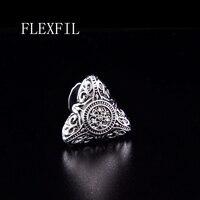 FLEXFIL vintage Sparta style shirt cufflink for mens designer Cuff link Button male Manga crystal Jewelry Wedding Free Shipping
