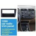 Идеальный 1 Din Автомобильный Радио Фризовая для 2001 2002 2003 2004 2005 Honda Civic LHD Dash Mount Kit CD Облицовка DVD Кадров