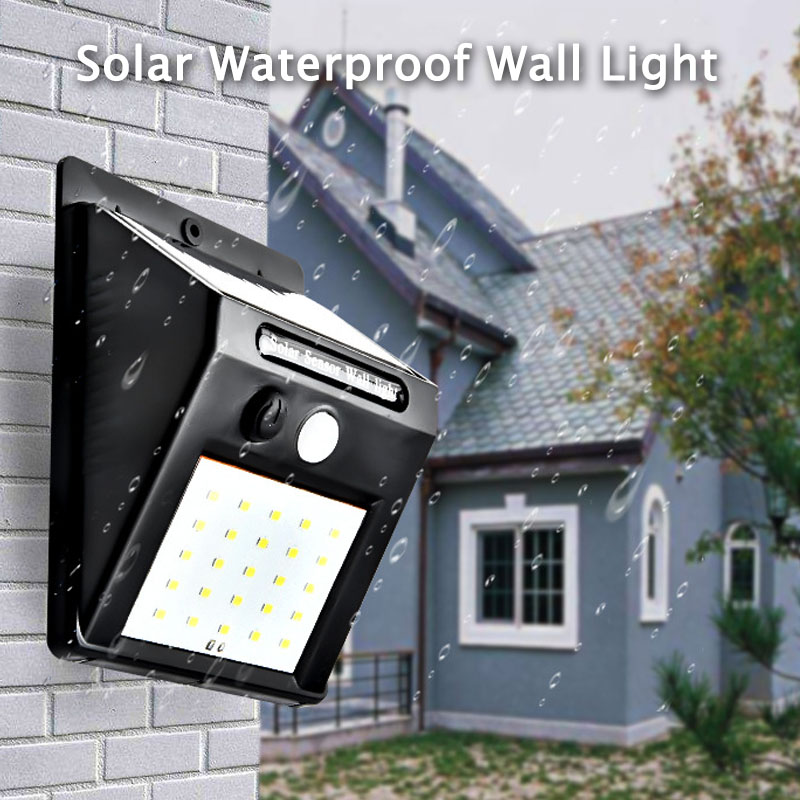 20 LEDs Automatically Solar-Lamp Portable Led Light Energy Led Sensor Camping Night Road Light Waterproof Outdoor Light