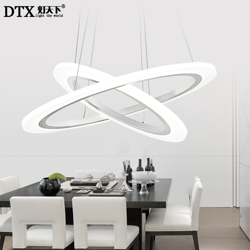 Modern led pendant lights simple room restaurant creative personality shop restaurant salon office hanging lamp zzp32722 in pendant lights from lights