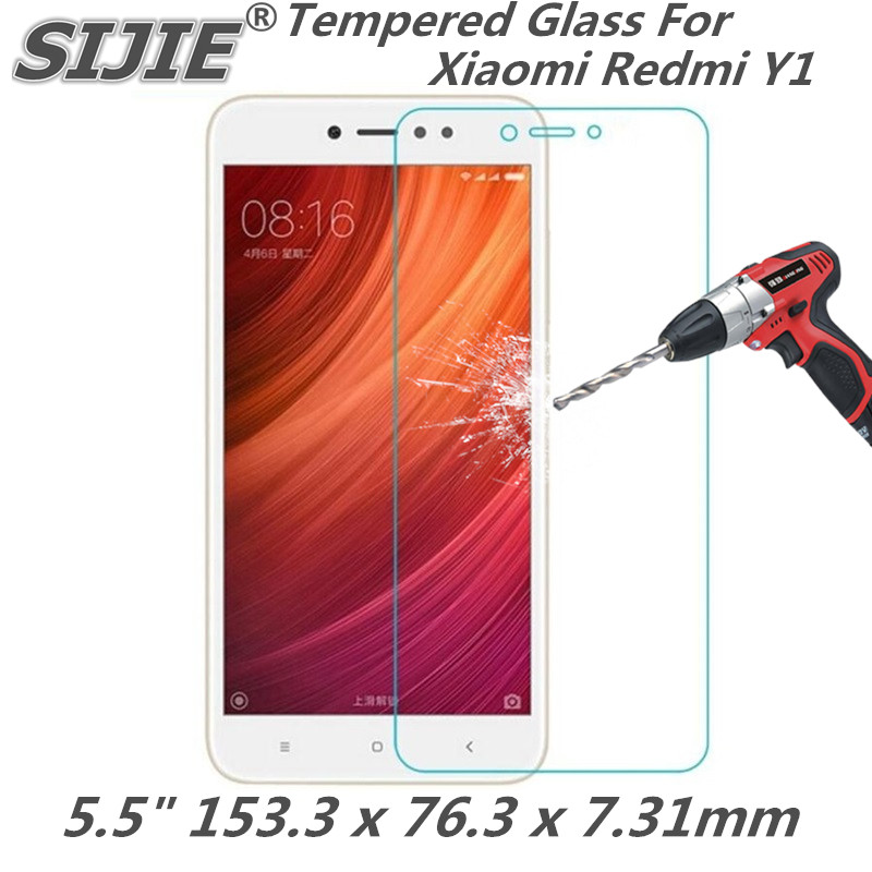 Tempered Glass For Xiaomi Redmi Y1 redmiY1 5.5 inch 3GB 32GB Screen protective cover smartphone case on toughened 9H crystals