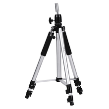 Abody Adjustable Wig Tripod Stand Mannequin Hairdressing Training Tripod Holder Wig Head Holder Hair Salon With Carry Bag