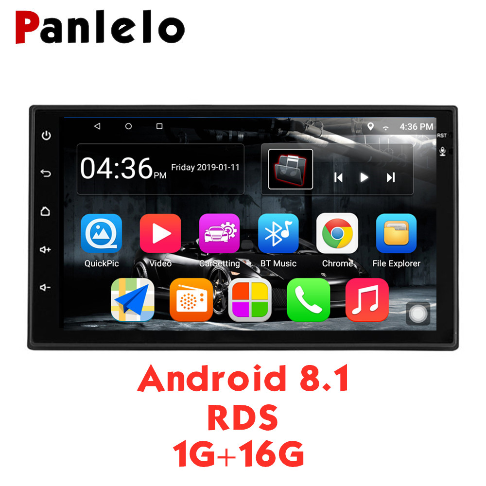 Panlelo S10 Autoradio 2 Din Android 8.1 Car Stereo 7 1024*600 1080P Quad Core 2din Android Head Unit GPS Navigation Audio RadioPanlelo S10 Autoradio 2 Din Android 8.1 Car Stereo 7 1024*600 1080P Quad Core 2din Android Head Unit GPS Navigation Audio Radio