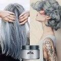 Moda Unissex Professional Fácil Modelagem Tintura Temporária DIY Cor Do Cabelo Creme De Cabelo de Cera