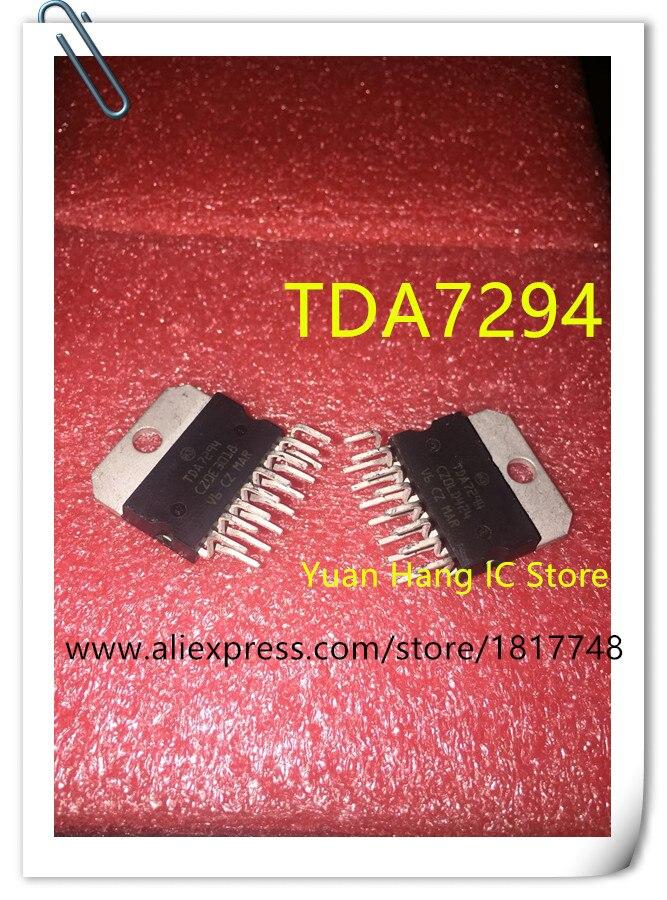 Free shipping! 2pcs/lot ST TDA7294V TDA7294 TDA 7294 Audio Amplifier new and original 10pcs lot lm1875t lm1875 to220 20w audio amplifier new original free shipping